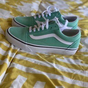 Vans Old Skool Sneaker- Neptune Green